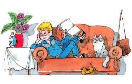 Сказка Витя Малеев в школе и дома