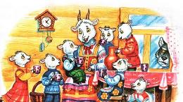 Сказка Волк и семеро козлят
