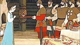 Сказка Сказка о мёртвой царевне и семи богатырях