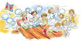 Сказка Папа, мама, бабушка, восемь детей и грузовик