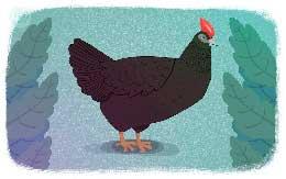 Сказка Черная курица или Подземные жители