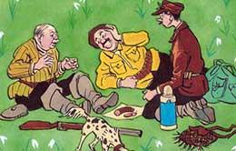 Сказка Три охотника