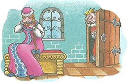 Сказка Наказанная царевна